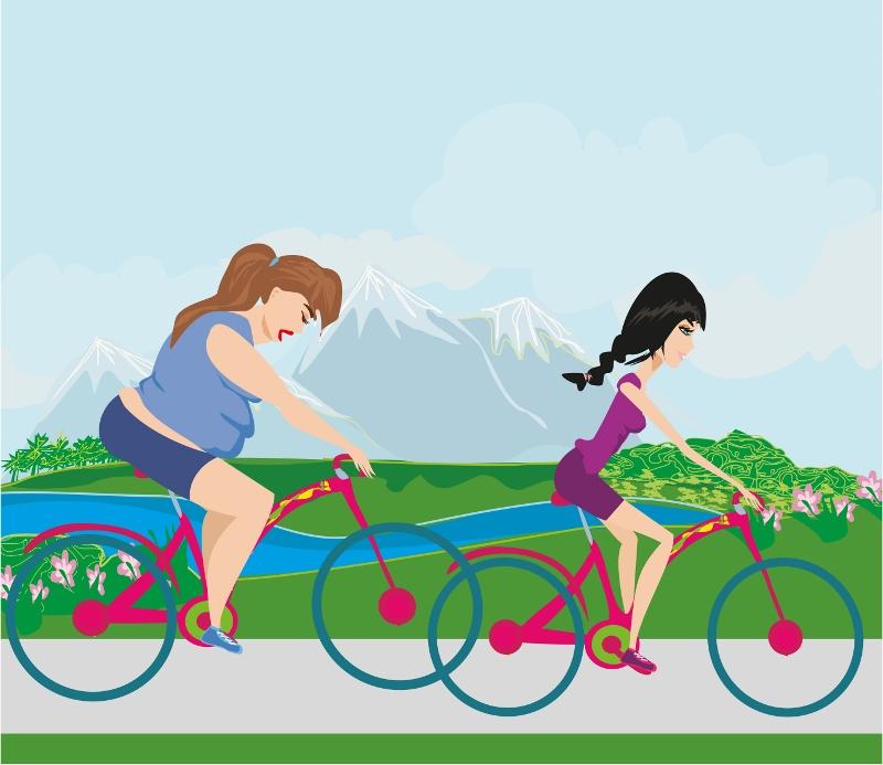 Ma pedalare fa dimagrire?