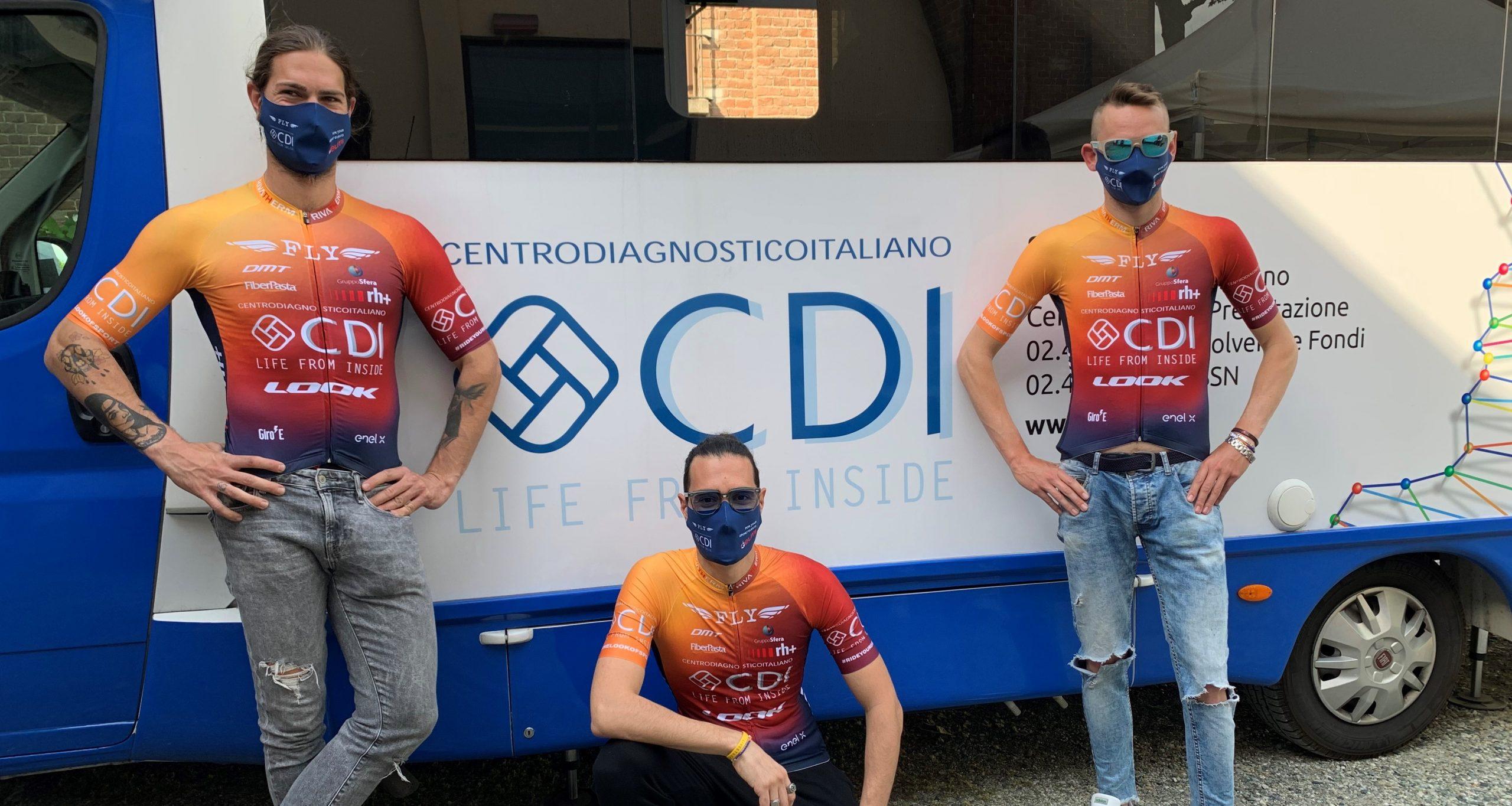 Il Centro Diagnostico Italiano sulle strade del Giro-E